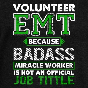 Volunteer EMT Tee Shirt - Women's Wideneck Sweatshirt