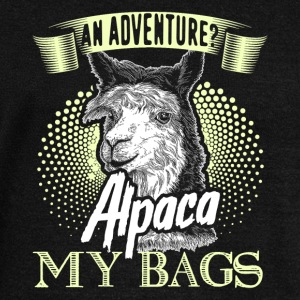 ALPACA MY BAGS SHIRTS - Women's Wideneck Sweatshirt