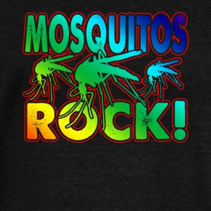 MOSQUITOS ROCK SHIRT - Women's Wideneck Sweatshirt