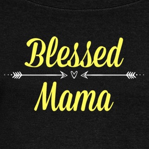 Blessed Mama - Women's Wideneck Sweatshirt