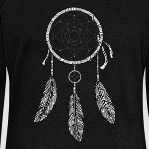 Dream Catcher Black and white - Women's Wideneck Sweatshirt