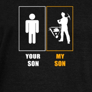 My Son Coal Miner T-Shirts - Women's Wideneck Sweatshirt