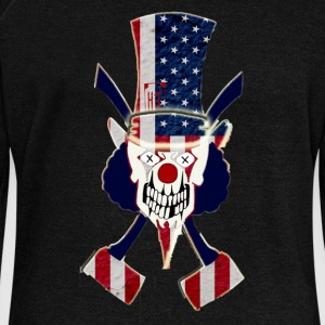 American Pride Chop Top - Women's Wideneck Sweatshirt