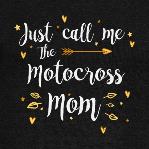 Just Call Me The Sports Motocross Mom funny gift - Women's Wideneck Sweatshirt