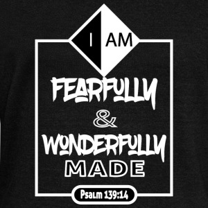 I AM-Psalm 139:14 - Women's Wideneck Sweatshirt