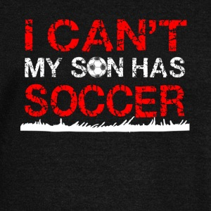 i can t my son has soccer - Women's Wideneck Sweatshirt
