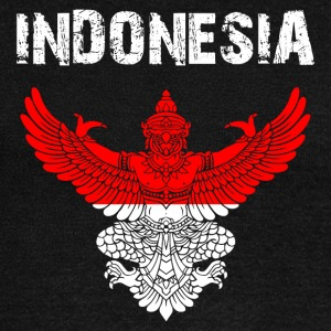 Nation-Shirt Indonesia Garuda EN - Women's Wideneck Sweatshirt