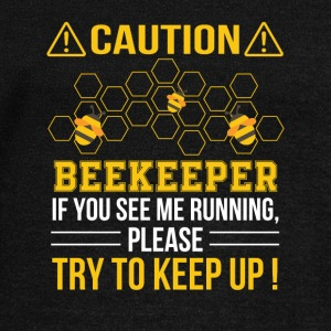 Beekeeper See Me Running Try To Keep Up - Women's Wideneck Sweatshirt