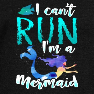 Mermaid Run Sport Back to School Gift Present - Women's Wideneck Sweatshirt