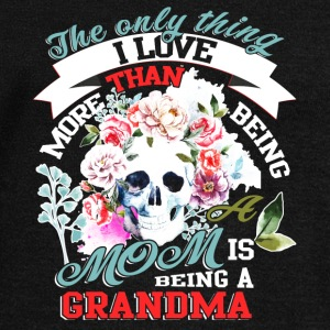 I Love Being A Grandma T Shirt - Women's Wideneck Sweatshirt