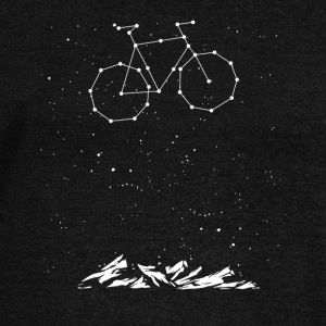 Bike Constellation - Women's Wideneck Sweatshirt