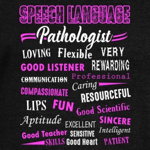 Speech Language Pathologist Shirt - Women's Wideneck Sweatshirt