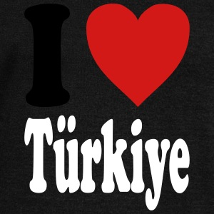 I love Tuerkiye / Turkey (variable colors!) - Women's Wideneck Sweatshirt