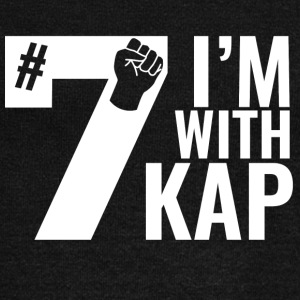 Take A Knee I Am With Kap Shirt Nr 7 2nd - Women's Wideneck Sweatshirt