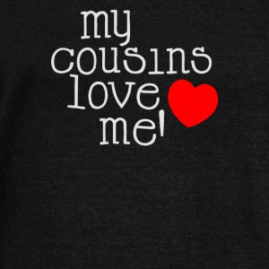 Cousins Love Cute Hearts - Women's Wideneck Sweatshirt
