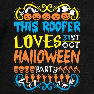 This Roofer Loves 31st Oct Halloween Party - Women's Wideneck Sweatshirt