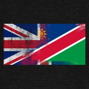 British Namibian Half Namibia Half UK Flag - Women's Wideneck Sweatshirt