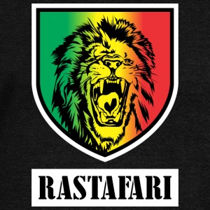 RASTA COLORS GRADIENT BADGE - Women's Wideneck Sweatshirt