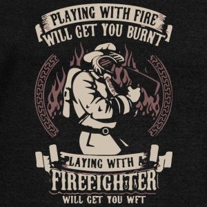 Fire Fighter - Women's Wideneck Sweatshirt