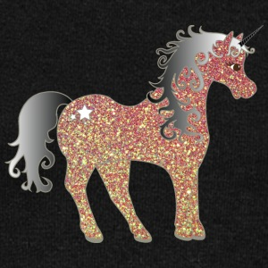 Gold Silver Unicorn - Women's Wideneck Sweatshirt