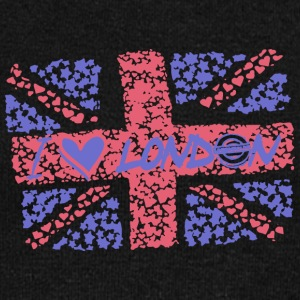 flag Britain London England vector image cool art - Women's Wideneck Sweatshirt