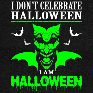 I Dont Celebrate Halloween Im Halloween - Women's Wideneck Sweatshirt