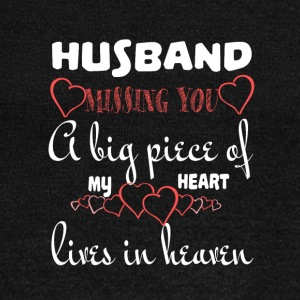 My Husband In Heaven T Shirt - Women's Wideneck Sweatshirt