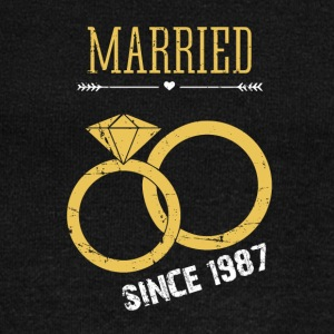 Married since 1987 - Women's Wideneck Sweatshirt