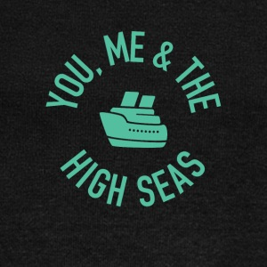 You, Me and the High Seas Cruise T-shirt - Women's Wideneck Sweatshirt