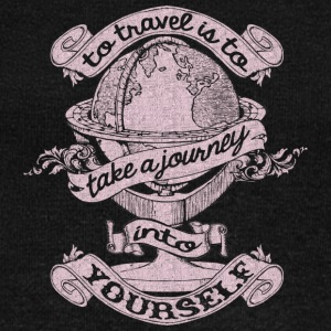 Travel Is To Take A Journey Into Yourself T Shirt - Women's Wideneck Sweatshirt