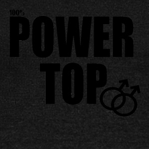 100% Power Top - Women's Wideneck Sweatshirt