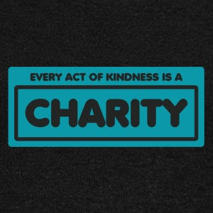 Every act of kindness is a charity - Women's Wideneck Sweatshirt