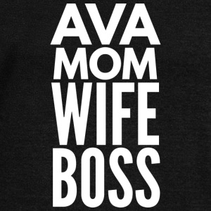 Ava Mom Wife Boss - Women's Wideneck Sweatshirt