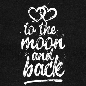 Love you To the moon and back - white - Women's Wideneck Sweatshirt