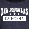 los angeles california - Women's Wideneck Sweatshirt