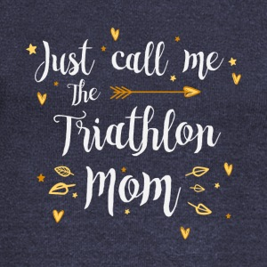 Just Call Me The Sports Triathlon Mom funny gift - Women's Wideneck Sweatshirt