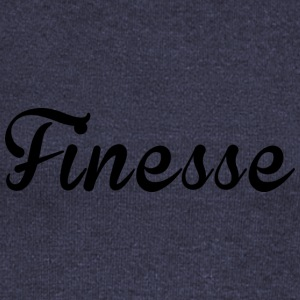 Finess supreme black logo exclusive unique design - Women's Wideneck Sweatshirt