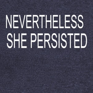 She Persisted - Women's Wideneck Sweatshirt