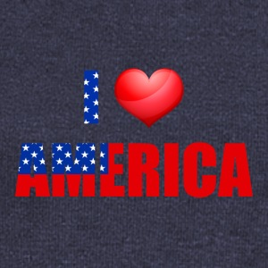 I love America - Women's Wideneck Sweatshirt
