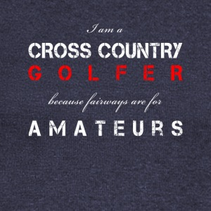 cross country golfer - Women's Wideneck Sweatshirt