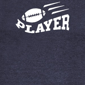 Player Football - Women's Wideneck Sweatshirt
