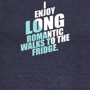 Romantic Walks To The Fridge - Women's Wideneck Sweatshirt