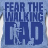 fear the walking dad - Women's Wideneck Sweatshirt