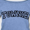 Charlestown Mass Boston Townie - Women's Wideneck Sweatshirt