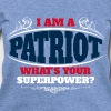 Patriot superpower color - Women's Wideneck Sweatshirt