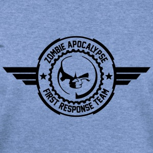 Zombie apocalypse first responder team - Women's Wideneck Sweatshirt