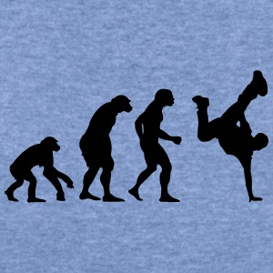 break dance evolution - Women's Wideneck Sweatshirt