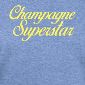 Champagne Superstar - Women's Wideneck Sweatshirt