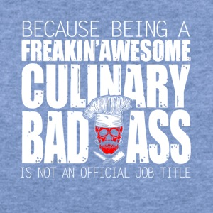 Culinary Badass Chef - Women's Wideneck Sweatshirt