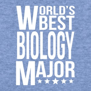 World's Best Biology Major - Women's Wideneck Sweatshirt